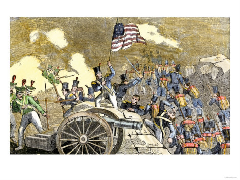 http://imgc.allpostersimages.com/images/P-473-488-90/22/2246/UK2ZD00Z/posters/mexican-artillery-at-monterey-captured-by-general-zachary-taylor-s-troops-u-s-mexican-war-c-1846.jpg