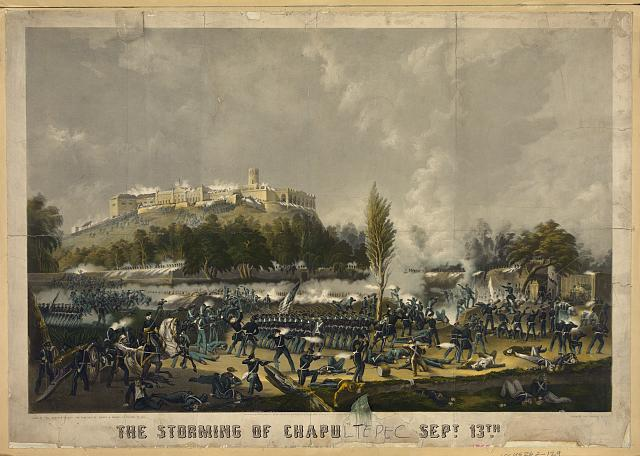 The storming of Chapu[ltepec] Sept. 13th [1847]